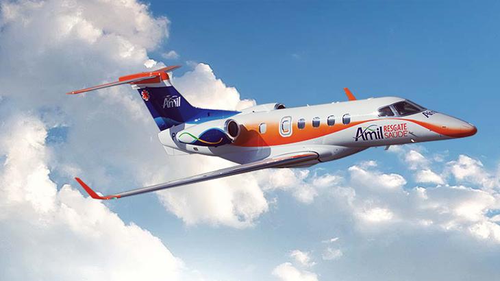 riado em 1993 e pioneiro no país, o Amil Resgate Saúde é um completo sistema de transporte aeromédico, que conta com profissionais de nível internacional e com unidades que são verdadeiras UTIs móveis (ambulâncias, helicópteros e jato aparelhados com a mais avançada tecnologia médica).